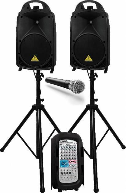 Прокат мобільного комплекту звукової апарвтури