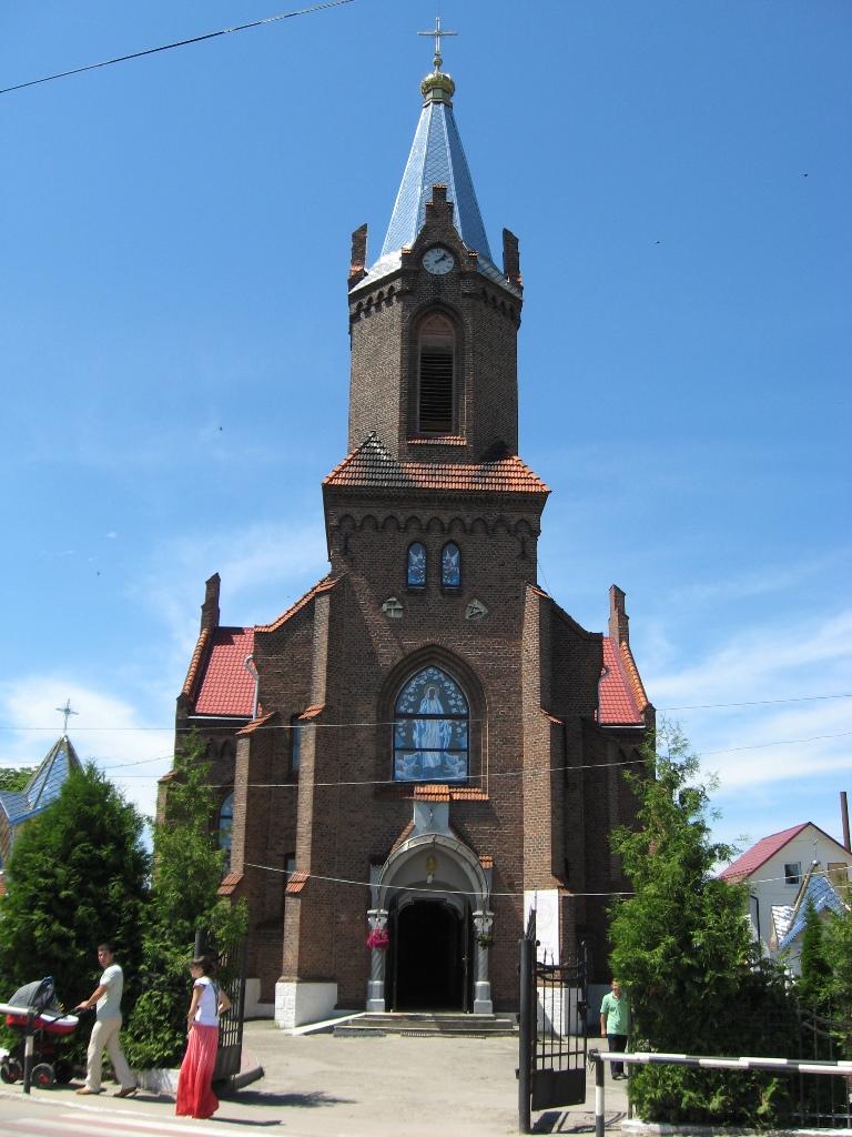 Церква Святої Анни Борислав панорама
