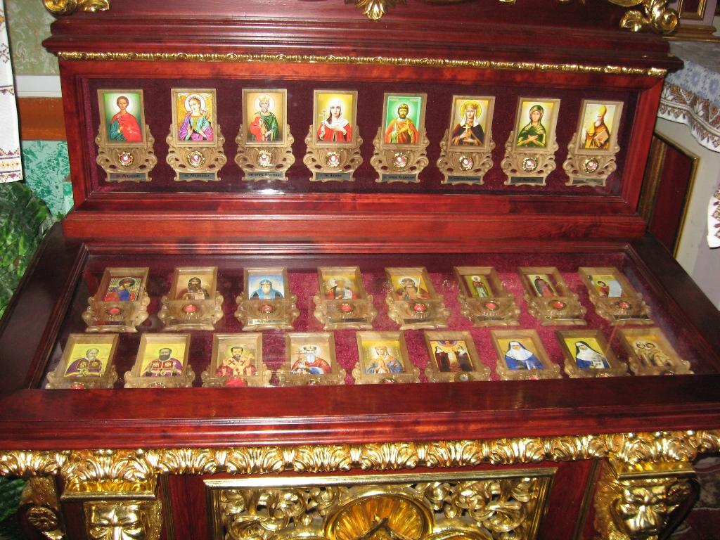 Мощовик в Церкві Святої Анни