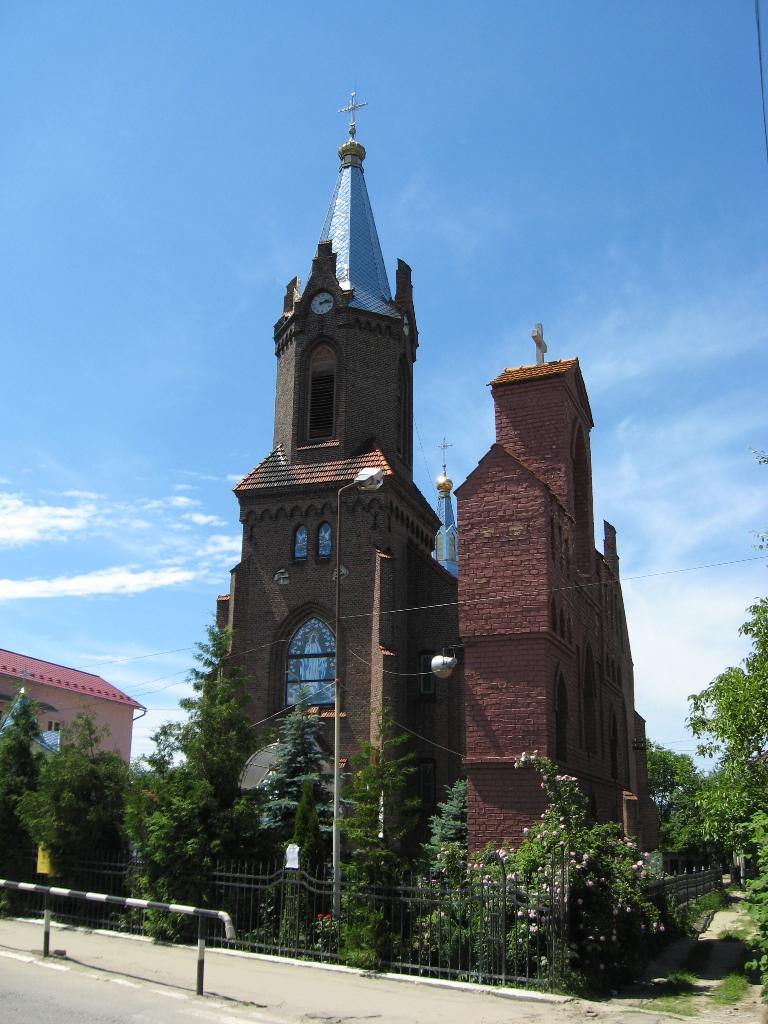 Церква Св. Анни панорама