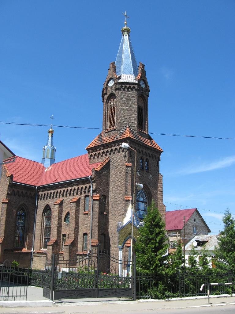 Панорама церкви Св. Анни